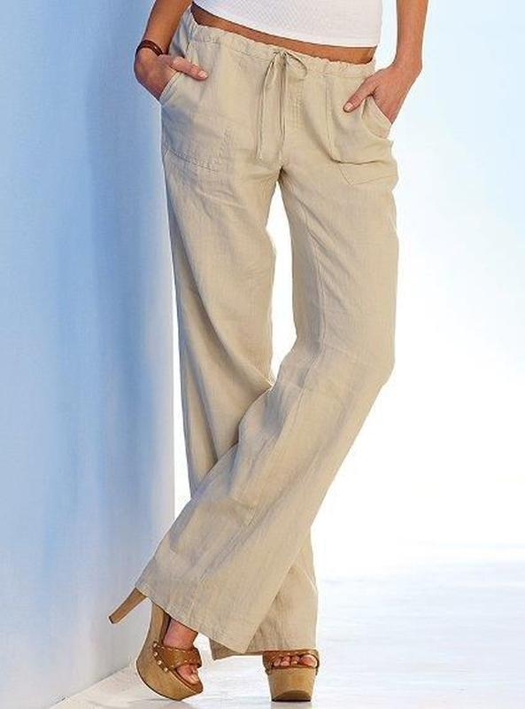 Натуральные брюки котон 14р на 48.50р      ж