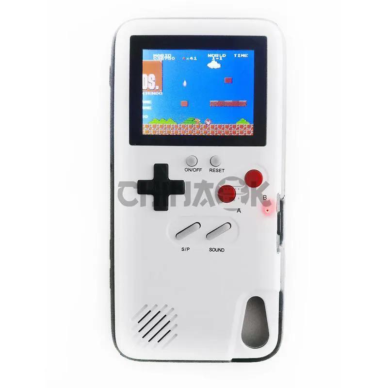 Игровой чехол Dendy (36 игр) для iPhone XS MAX