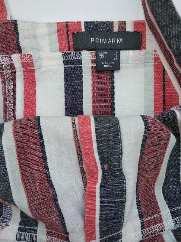 Платье сарафан в полоску размер m - Фото 4