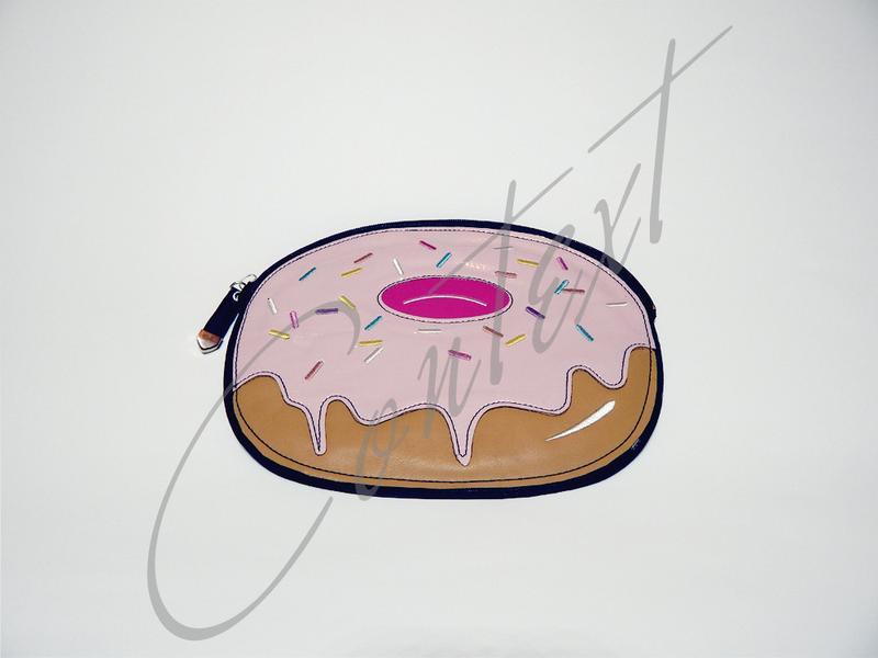 Сумка клатч пончик