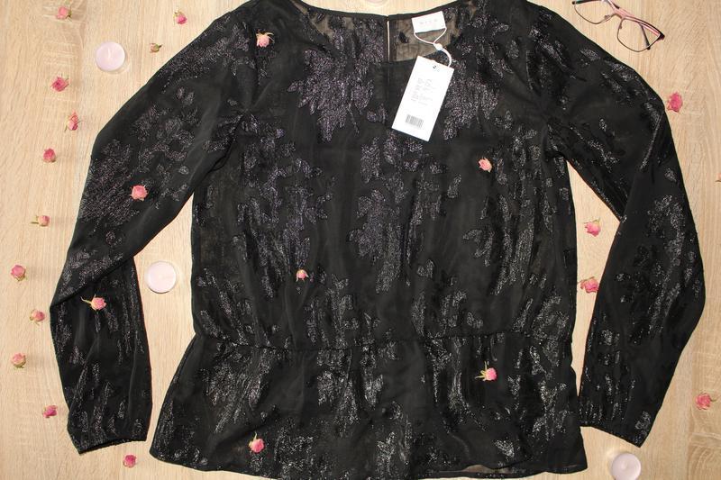 Шифоновая блузка vila