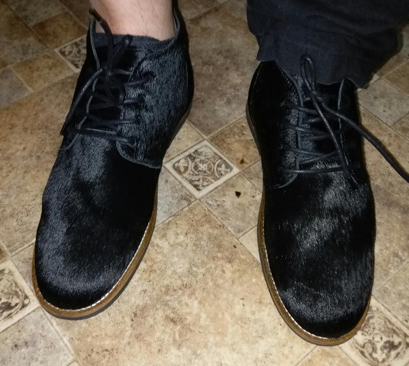 Летеяя цена ♥️♥️♥️♥️♥️♥️туфли мужские ботинки  из пони - Фото 5