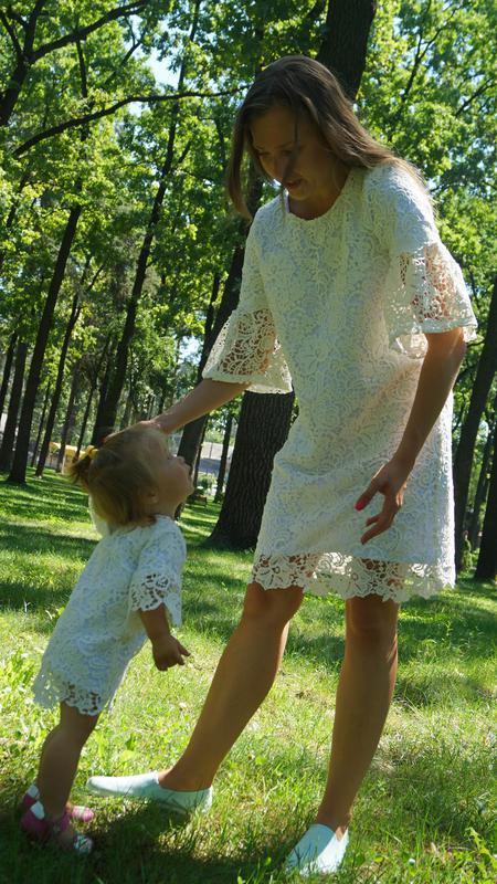 Платья мама-дочка, family look