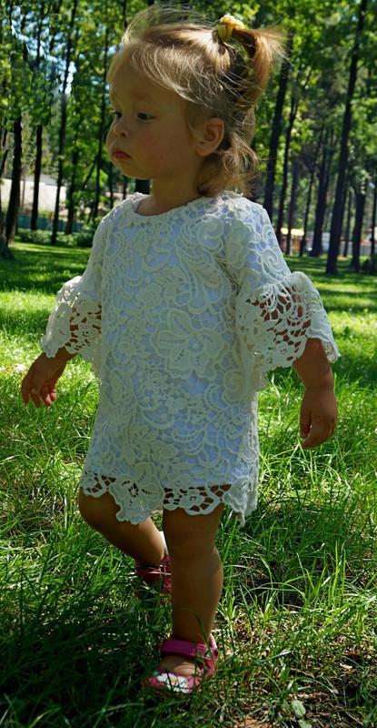 Платья мама-дочка, family look - Фото 2