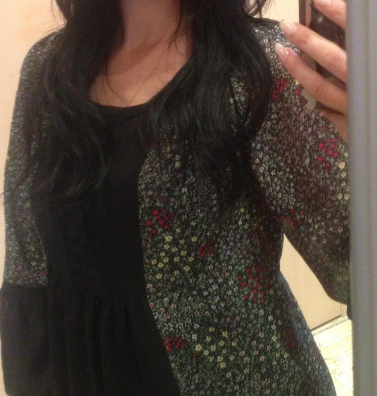 Шифоновое платье с рюшами на купальник - Фото 2