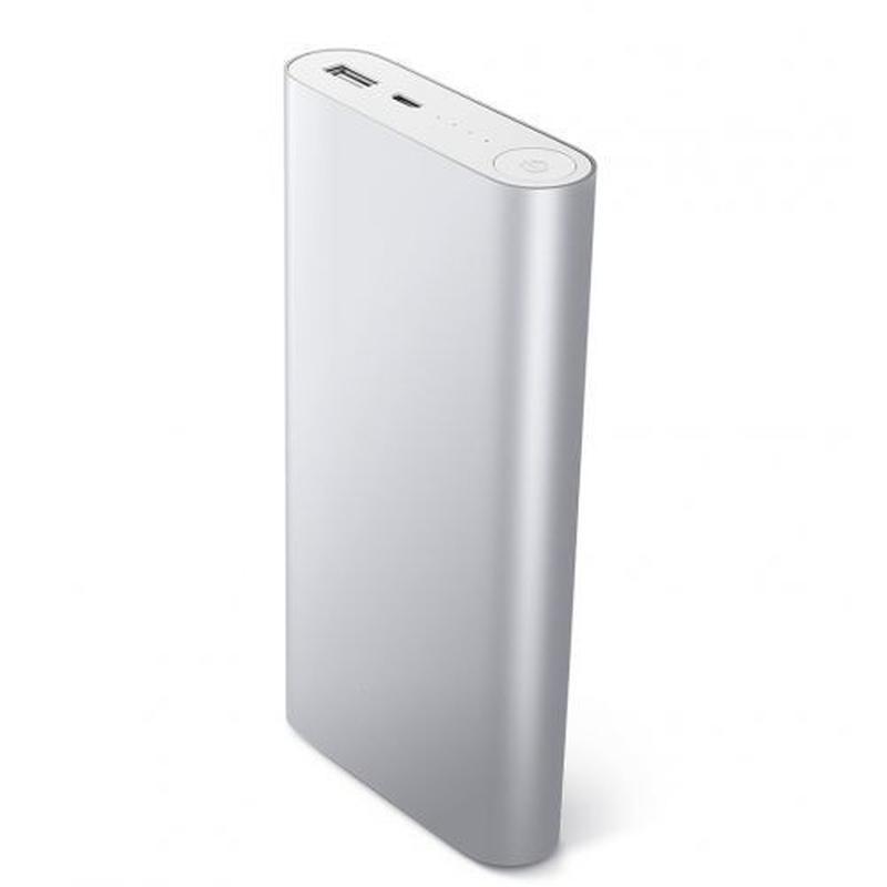 Повер банк Xiaomi 20800 mAh Power Bank Внешний Аккумулятор СЕРЕБР - Фото 8