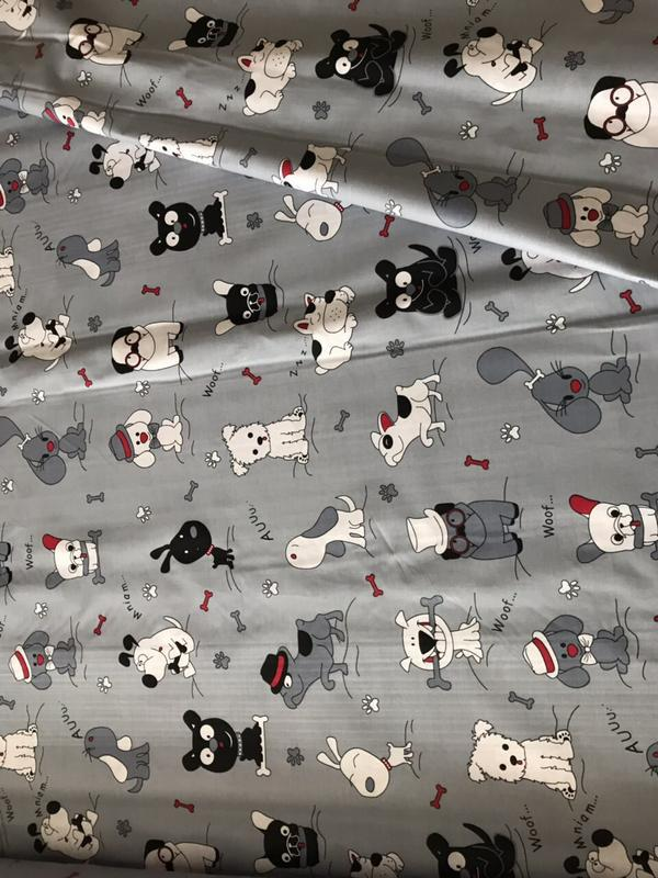 Постельный комплект с собачками для девочки или мальчика - Фото 2