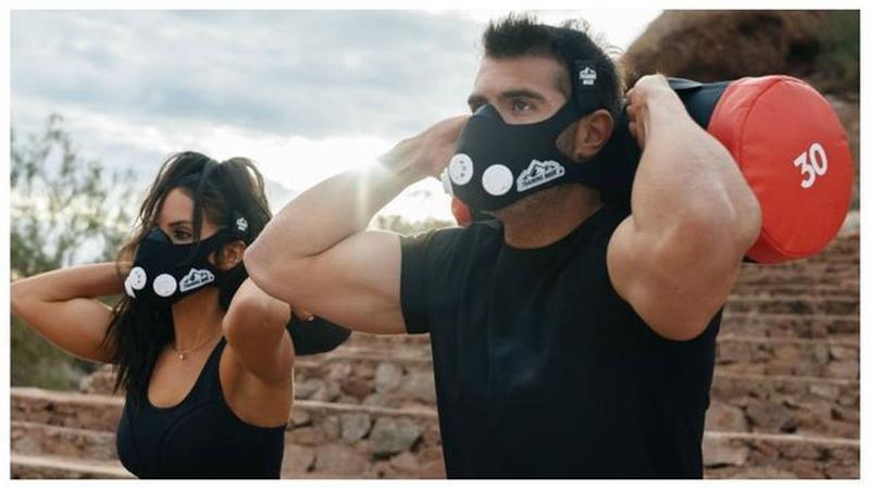 Тренировочная маска для дыхания,Elevation Mask 2.0,спортивная ...