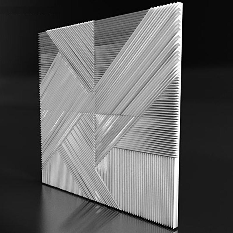 3D панели из гипса. Гипсовая плитка. Гипсовый кирпич. - Фото 3