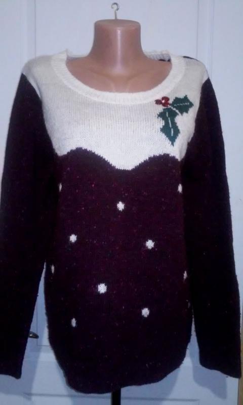 Новогодний свитер ту