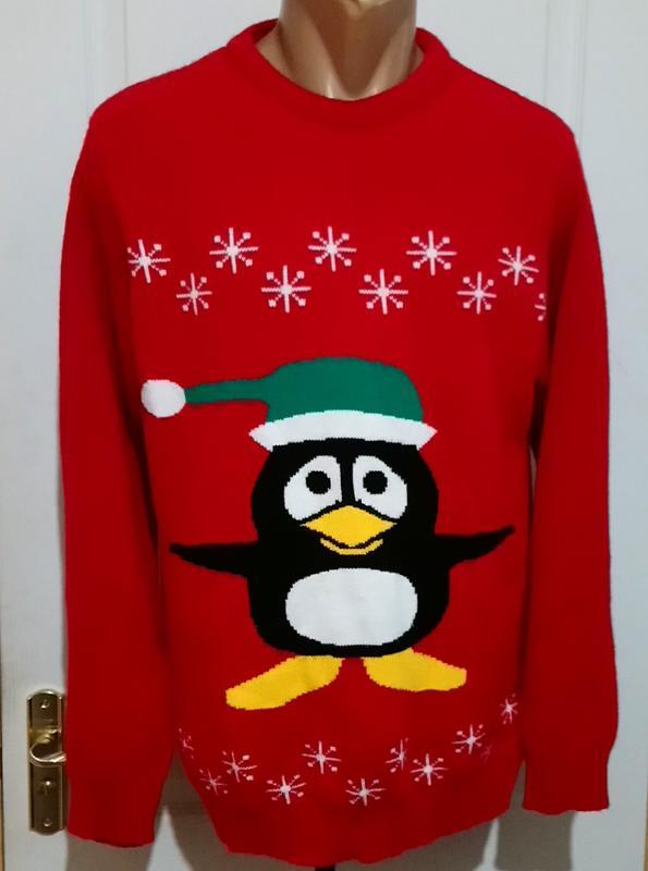 Новогодний свитер .пог 54