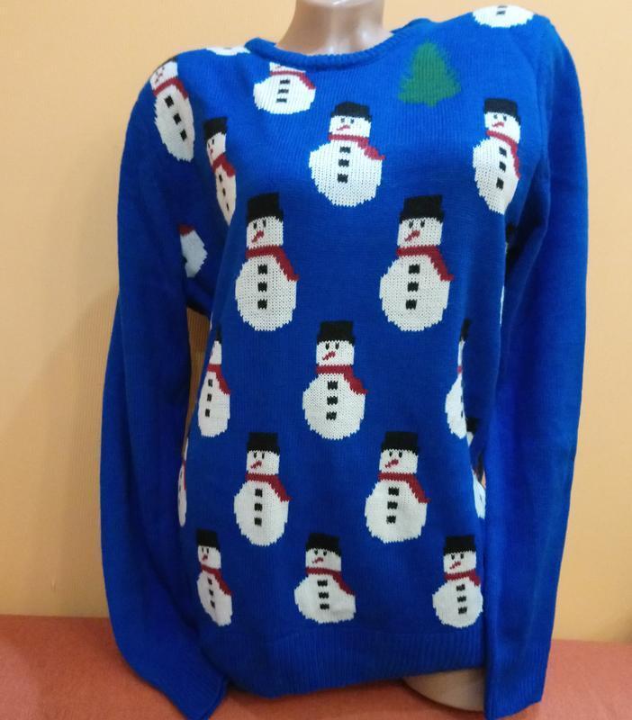Новогодний свитер burton menswear