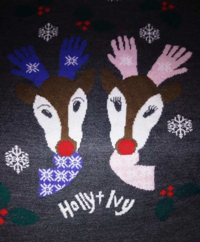 Новогодний свитер от бонмарч