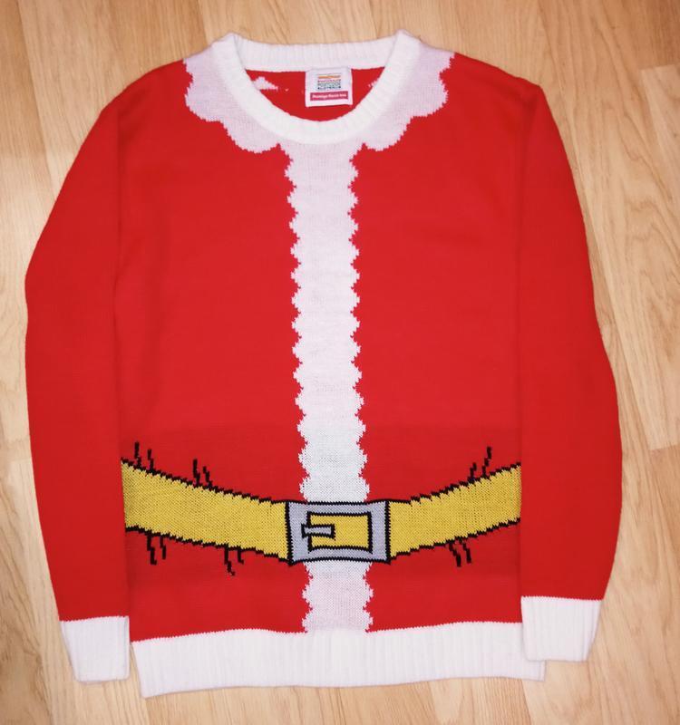 Новогодний свитер санта