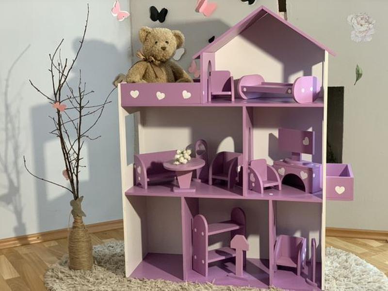 Кукольный домик для Барби Лол Дом для кукол Мебель детская