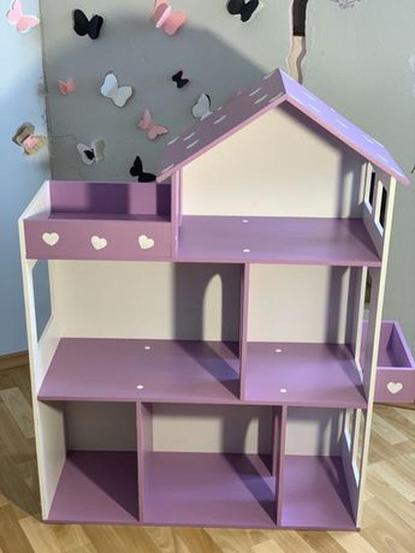 Кукольный домик для Барби Лол Дом для кукол Мебель детская - Фото 4