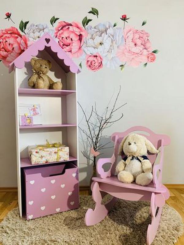 Кукольный домик для Барби Лол Дом для кукол Мебель детская - Фото 5