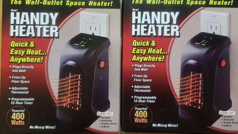 Обогреватель керамика тепловентилятор Handy Heater печка тепли... - Фото 7