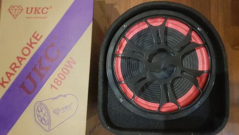 Колонка беспроводная Сабвуфер Bluetooth FM 1008BT 12 и 220В 18... - Фото 5