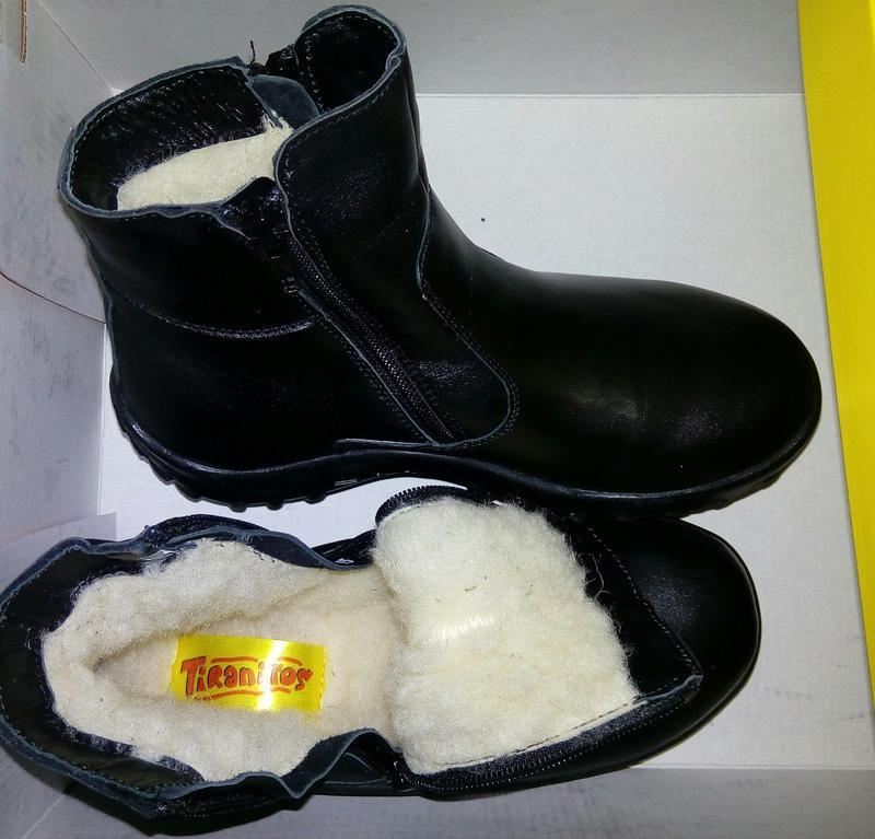 Кожаные зимние ботинки тм tiranitos украина 32, 33 размеры - Фото 3