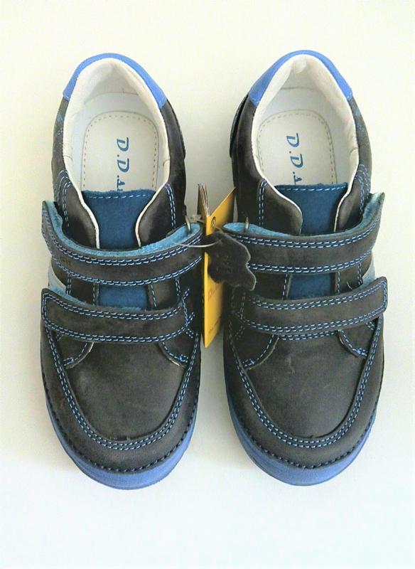 Кожаные спортивные туфли тм d.d.step 32, 36 размеры - Фото 3