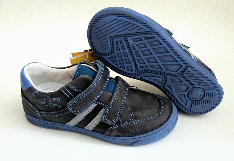 Кожаные спортивные туфли тм d.d.step 32, 36 размеры - Фото 4