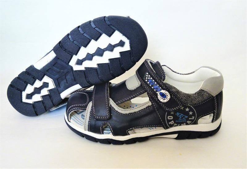 Кожаные сандалии с ортопедической стелькой 33, 35, 36 размеры