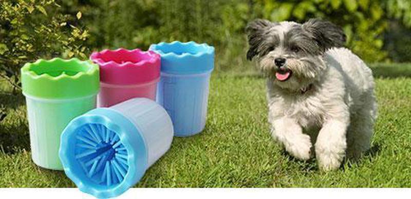 Стакан для мытья лап, лапомойка маленькая для собак, мойка для ла - Фото 5