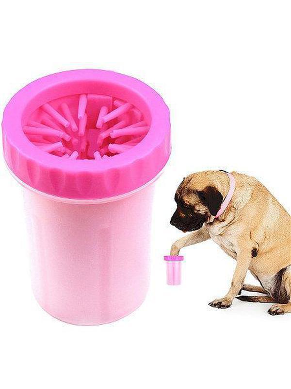 Стакан для мытья лап, лапомойка маленькая для собак, мойка для ла - Фото 7