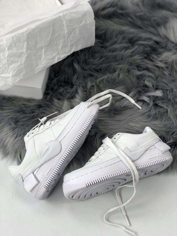 Nike air force 1 low white - Фото 6