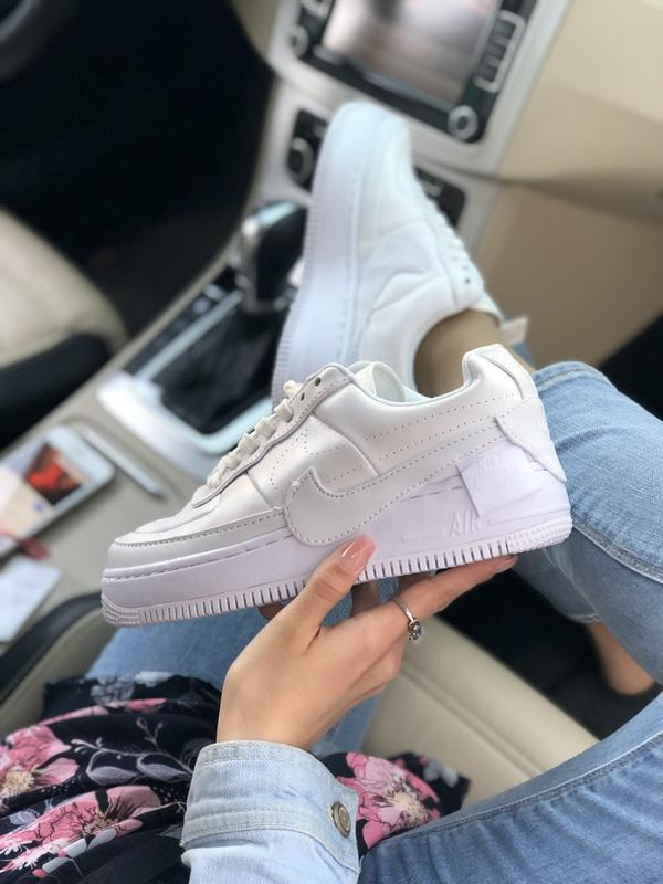 Nike air force 1 low white - Фото 9