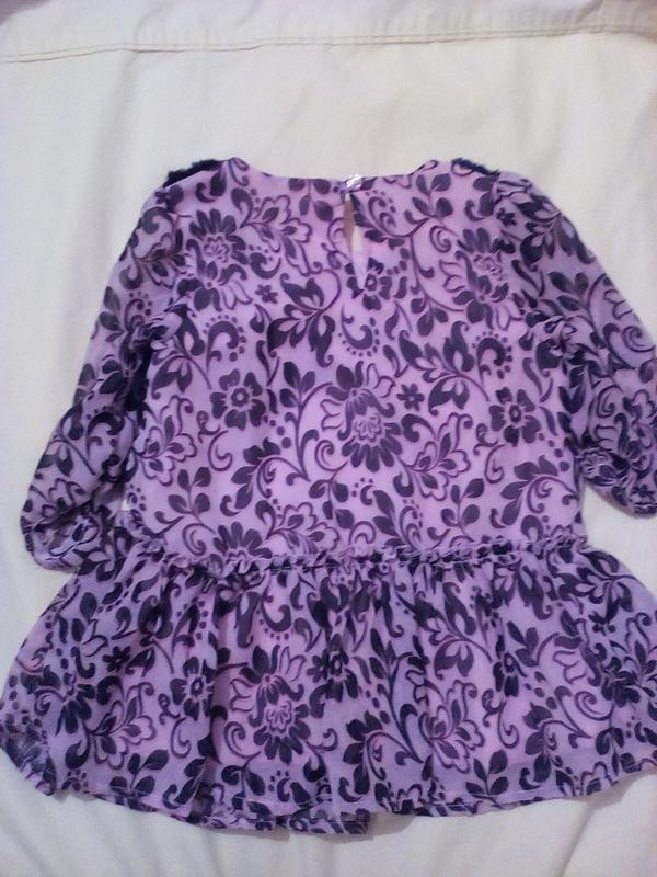 Комбинированное платьице на 3 года healthtex - Фото 2
