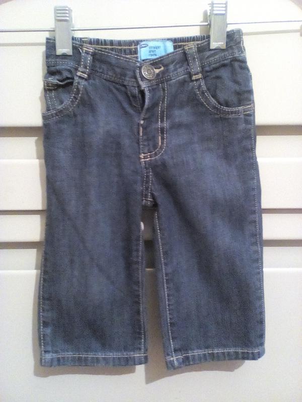 247 легкие джинсы 6-12 мес.