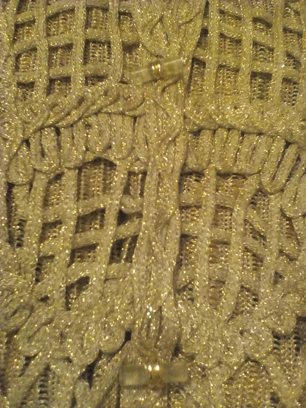 Нарядная накидка кардиган жилет - Фото 3