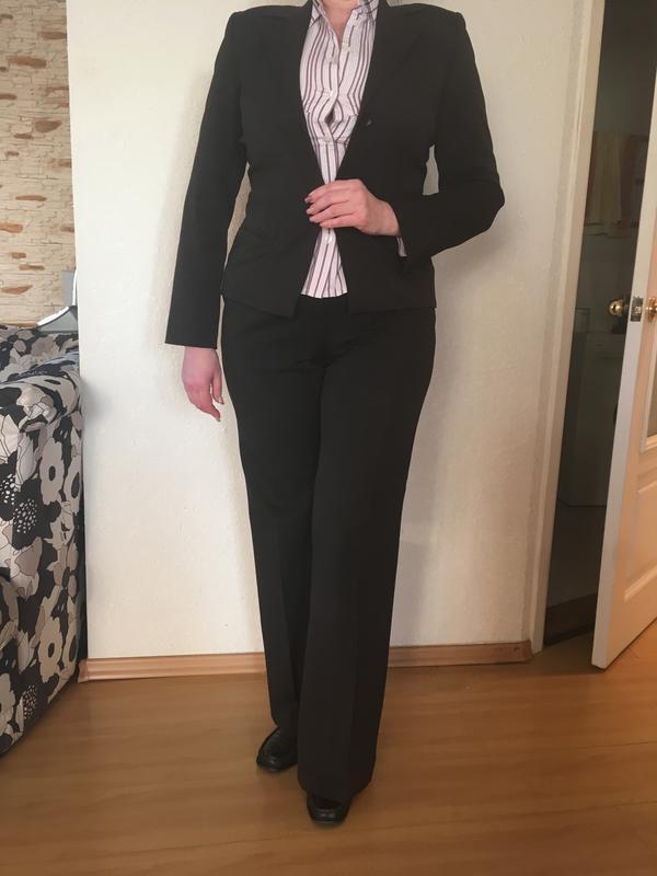 Женский деловой костюм с брюками bgn - Фото 2