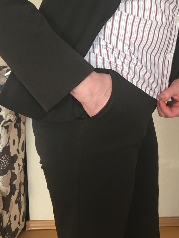 Женский деловой костюм с брюками bgn - Фото 3