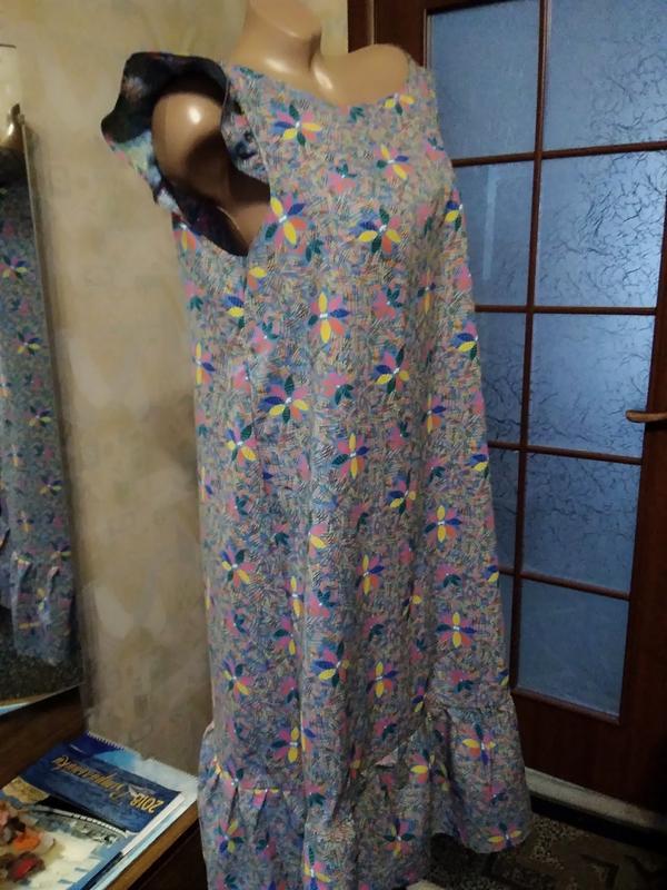Симпатичное летнее платье, большого размера