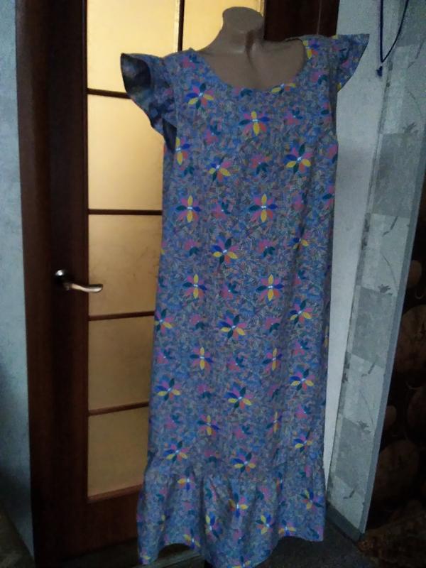 Симпатичное летнее платье, большого размера - Фото 6