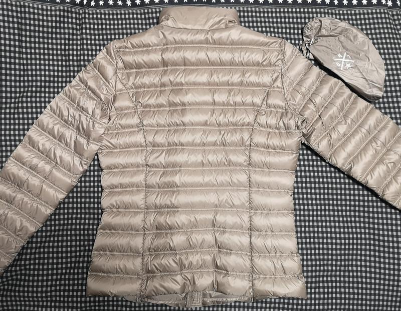 Куртка пуховик reset демисезонная - Фото 4