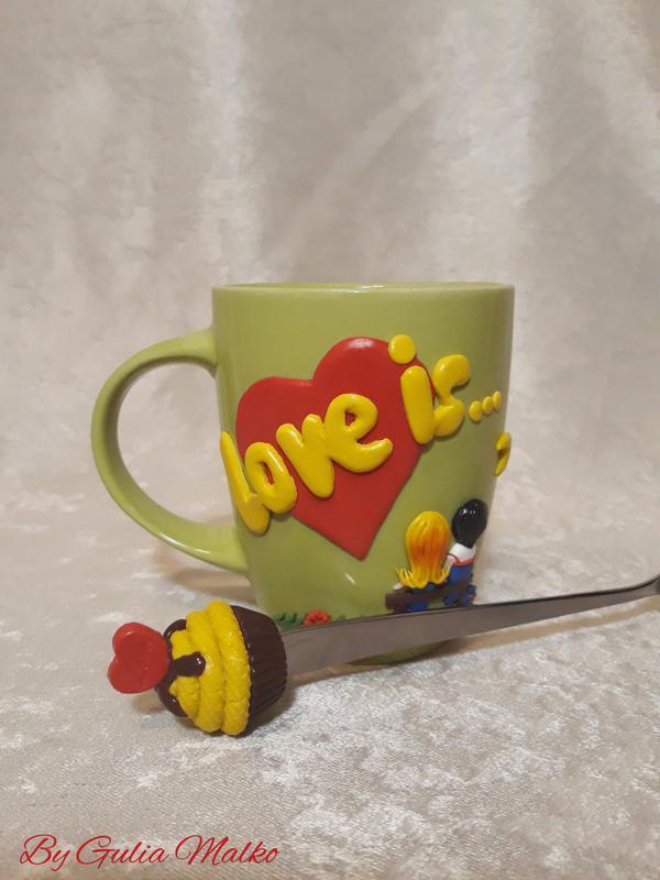 Чашка - подарок для любимой