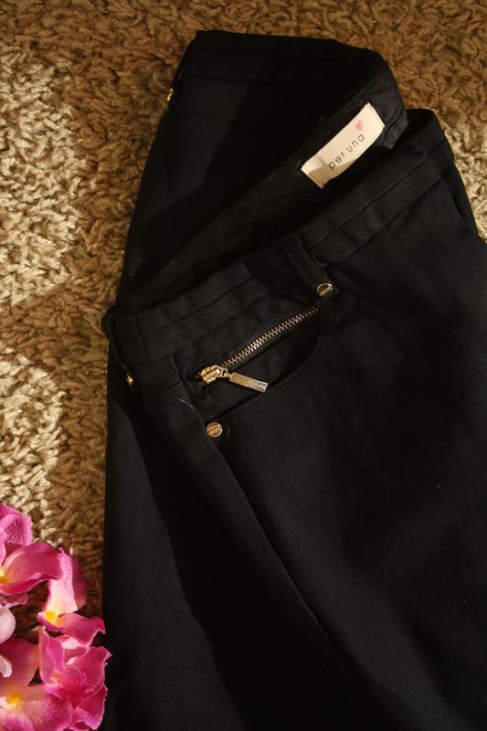 Очень качественные плотные брюки прямого кроя per una,72% виск... - Фото 3