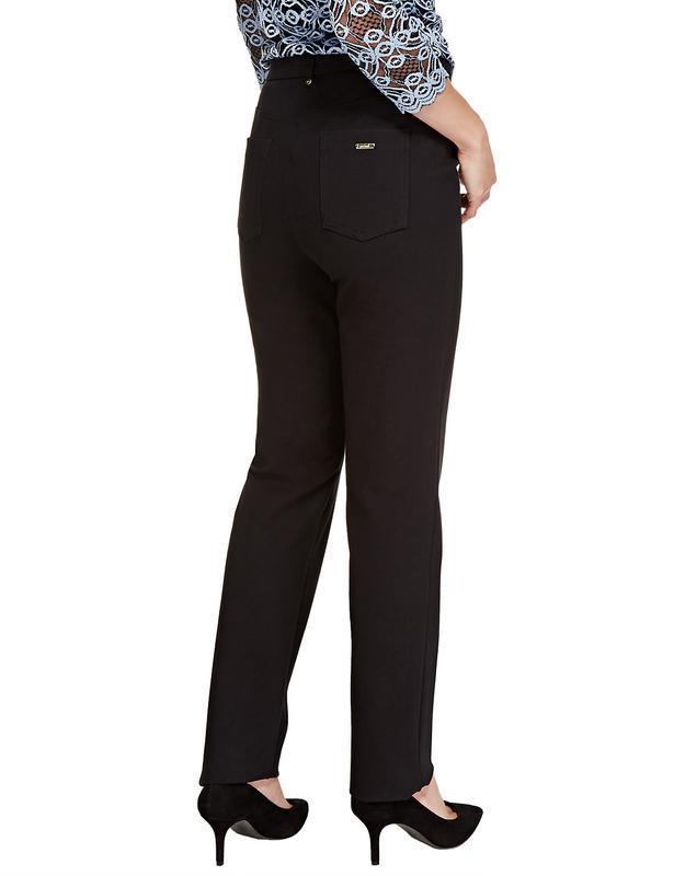 Очень качественные плотные брюки прямого кроя per una,72% виск... - Фото 5