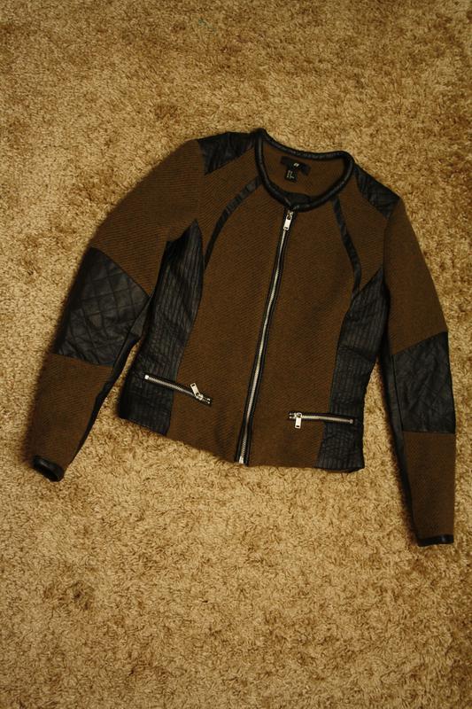 Куртка h&m, очень красивая, как новая - Фото 4