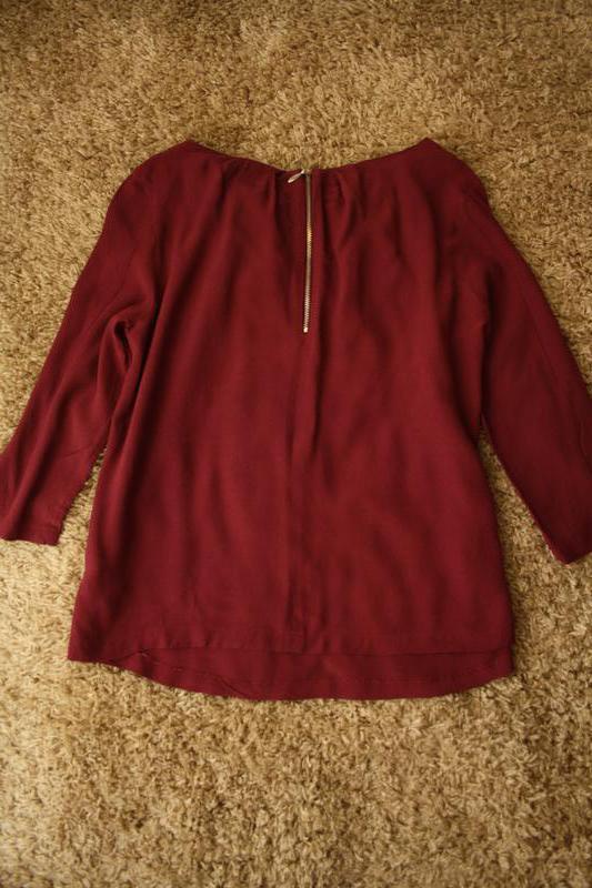 Нарядная блуза peruna , 100% вискоза, сзади декоративный замочек - Фото 3