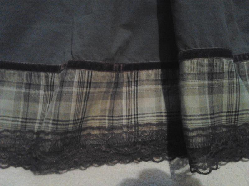 Летняя юбка цвета хакки - Фото 3