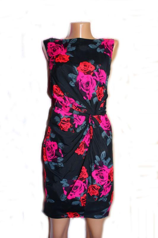Платье по типу футляр в розы / south, 12