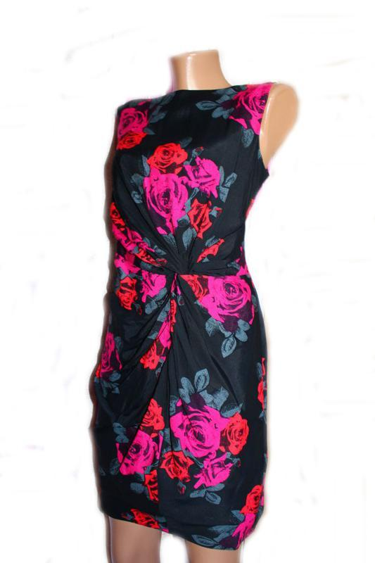 Платье по типу футляр в розы / south, 12 - Фото 2