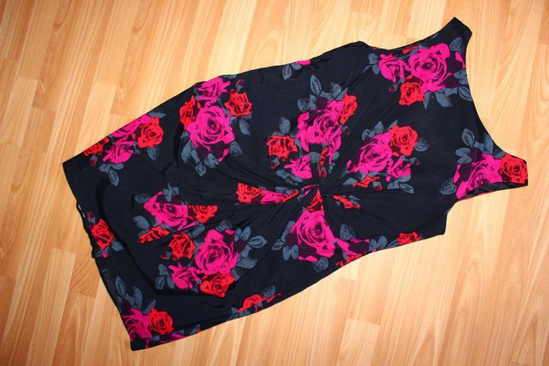 Платье по типу футляр в розы / south, 12 - Фото 5