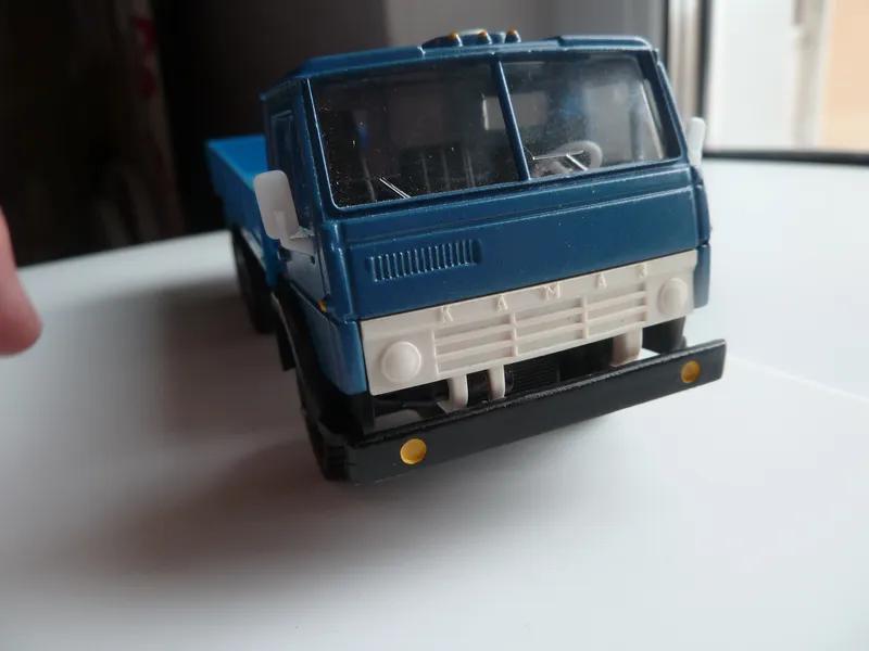 КамАЗ-53212 Элекон Масштаб 1:43 синий.