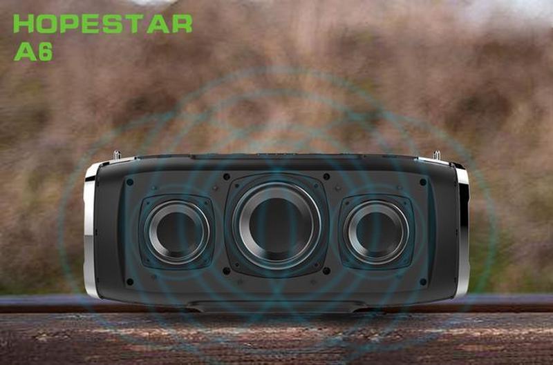 Беспроводная Bluetooth колонка HOPESTAR A6 - Фото 5